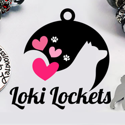 LokiLockets, an online pet jewelery boutique that benefits animal rescue.